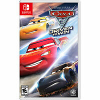 Cars 3: Driven to Win Switch Brand New Sealed