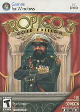 TROPICO 3 GOLD EDITION - Tropico III & Absolute Power Expansion - BRAND NEW!