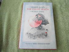 1st Edition JAMES AND THE GIANT PEACH CHILDREN'S BOOK by Roald Dahl HC DJ