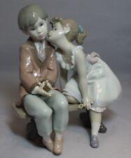 "Vintage Lladro #7635 Ten and Growing 7.5"" Figurine Gloss MINT w/ Original Box"