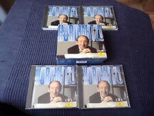 4 CD BOX Vladimir Horowitz plays Mozart Schuman Schubert DG Deutsche Grammophon