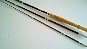 """VIntage Beacon Deluxe Fly Fishing Rod 3 piece 8'6"""""""
