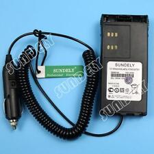 12V Car Charger Base for Motorola HT750 HT1250 GP328 GP340 GP380 GP360 US STOCK