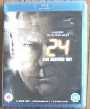 24 Live Another Day 3 Blu-Ray Set (2014) ABC Region Free NEW Kiefer Sutherland