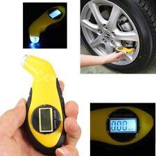 DIGITAL PRESSURE TIRE GAUGE LCD AIR CAR TYRE MOTORCYCLE TESTER AUTO HAMMER SAFE