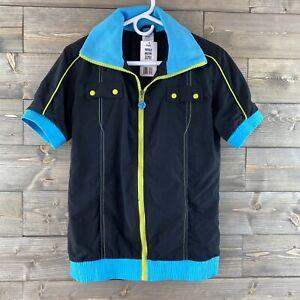 Zumba Fitness Womens Shirt Jacket Zip Up Size Large