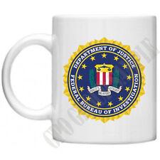 FBI CJC senza limiti Federal Bureau of Investigation servizi segreti TAZZA 10 OZ (ca. 283.49 g)