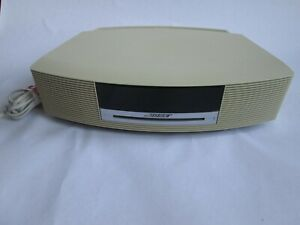 BOSE WAVE MUSIC SYSTEM CD, RADIO AND SPEAKERS, CD DOES NOT WORK, WITH POWER LEAD