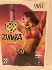 Zumba fitness Wii games