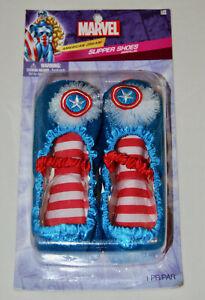 Marvel Comics Girls Captain Marvel American Dream Slipper Shoes Girls age 7-11