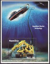 Namibia 1998 Mi Block 40 Namibian Marine Technology MNH