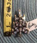 #771 Eisenberg Ice Vintage Candle Christmas Tree Pin Aurora Borealis Signed