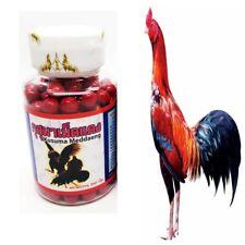 200 Pills THAI Healthy Rooster Mixed Vitamin Kusuma Red Pills Thai Supplement