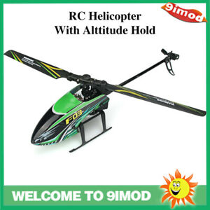 F03 RC Helicopter 4CH 6-Aixs Gyro Anti-collision Alttitude Hold Toy Plane RTF