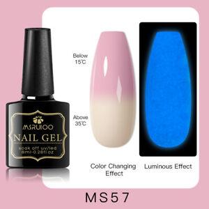 MSRUIOO Luminous Color-Changing UV Gel Nail Polish Soak Off Salon Manicure MS57