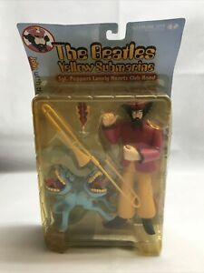 NEW Mcfarlane The Beatles John With Bulldog Yellow Submarine Toys LG RR17