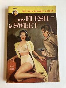My Flesh is Sweet Day Keene vintage sleaze GGA paperback Lion