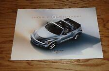 Original 2005 Chrysler PT Cruiser Convertible Deluxe Sales Brochure 05