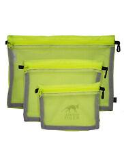 Tasmanian Tiger Mesh Pocket Set safety yellow Netztaschen Set 3 Größen Neongelb