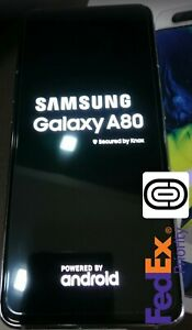 Samsung Galaxy A80 White ** Cheapest On eBay ** Free FEDEX Priority Shipping