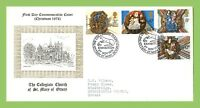 G.B. 1974 Christmas set on official St Marys First Day Cover, Devon