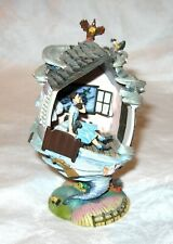 "Franklin Mint Wizard Of Oz ""The House Began To Pitch"" Collectible Egg Figurine"