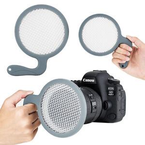 JJC Handheld White Balance Filter Card for Camera Lens up to 95mm Canon Nikon