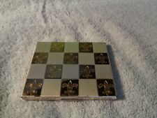 Vintage American Beauty Ladies Compact - Square w/mirror & powder puff