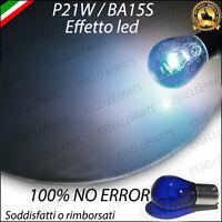 LAMPADA LAMPADINA P21W BA15S EFFETTO LED NO ERROR RETROMARCIA LUCE DIURNA