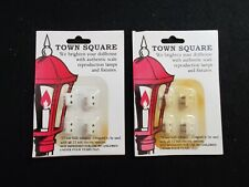 Town Square Miniatures Lighting Accessories T8776 Lot of 2