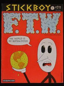 STICKBOY COMIC BOOK #1