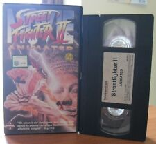 VHS - STREET FIGHTER 2 - Movie Animated - MANGA VIDEO - Anime (inedito in dvd)