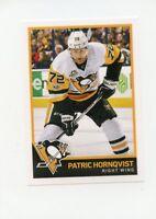 17/18 PANINI NHL STICKER #188 PATRIC HORNQVIST PENGUINS *40536