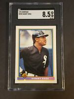 1991 Bowman #350 Sammy Sosa SGC 8.5 Newly Graded and Slabbed