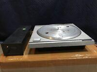 Rare Technics SP10 MKII 2 Turntable + SH10E Power Supply Unit Good Condition!
