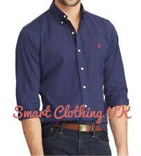 Ralph Lauren Men's Slim Fit Performance Shirt  (Newport Navy)    RRP £115