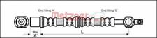 Bremsschlauch für Bremsanlage Vorderachse METZGER 4112213