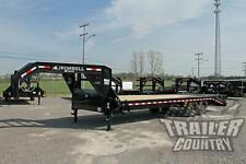 New 2021 8 X 25 20 5 Deckover Equipment 14k Gooseneck Trailer Rampage Ramps