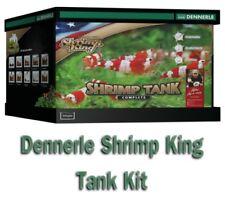 Dennerle 10 G 35L Shrimp King Complete Aquarium Tank Kit Filter + LED 5.0 Light