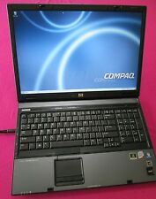 HP 8710w elitebook laptop Core 2 Duo 2.2Ghz T6600 4GB 320GB hdd NVIDIA 3600m FX