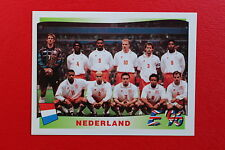 Panini EURO 96 N. 76 NEDERLAND TEAM  New With BLACK back TOPMINT!!