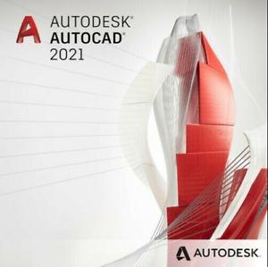 Autodesk AutoCad ✔ Vollversion 2021 | LifeTime | Windows ✔ Mehrsprachig🔥