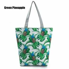 New Women's Unicorn Canvas Tote Shoulder Large Shopping Bag Beach School Handbag