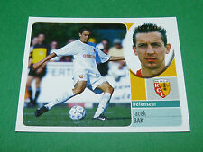 JACEK BAK RC LENS RCL BOLLAERT  PANINI FOOT 2003 FOOTBALL 2002-2003