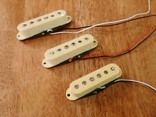 GUITAR PICKUP SET ALNICO 2 MAGNETS CLASSIC 50'S SET OF 3 CREAM FOR STRATOCASTER