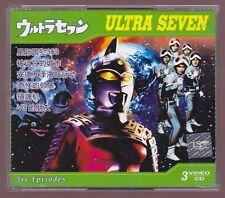 Ultraseven 3-VCD Vol 2 Episodes 7-13 Tokusatsu Chinese Dub Ultraman Ultra Seven