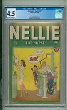 Nellie The Nurse #19 CGC 4.5 Dentist Cover 1949