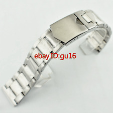 Corgeut 22mm 316L Solid stainless steel bracelet watch strap watches bands p611