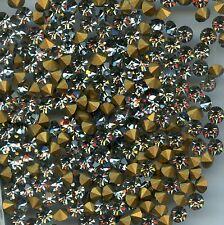 1100/SS18/BD*** 30 STRASS ANCIENS SWAROVSKI BLACK DIAMOND SS18(4,3mm) *** x30
