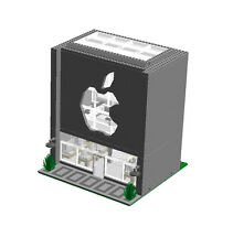 Custom Lego Apple Computer Store Instructions Bricks 10182 10185